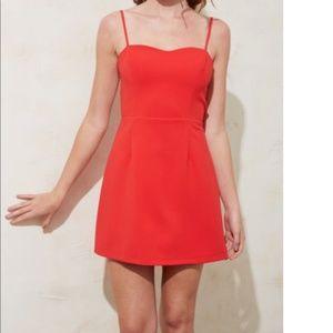 NWOT FCUK Whisper Light Sweetheart Mini dress